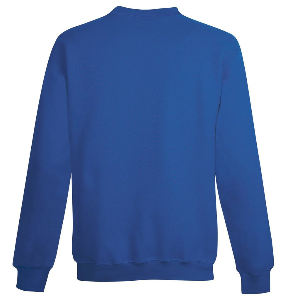 Champion Youth Royal Double Dry ECO Fleece Crew