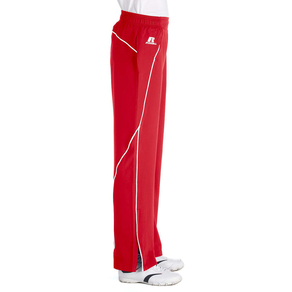 Russell Athletic Women's True Red/White Team Prestige Pant