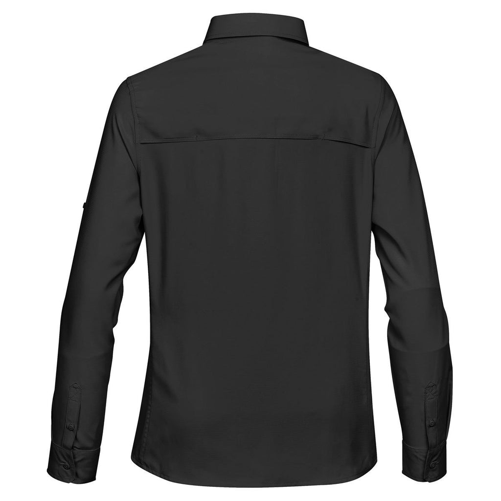 Stormtech Women's Black Safari Shirt