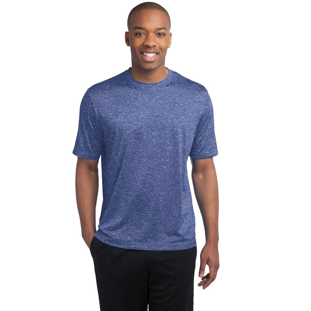 Sport-Tek Men's True Royal Heather Contender Tee