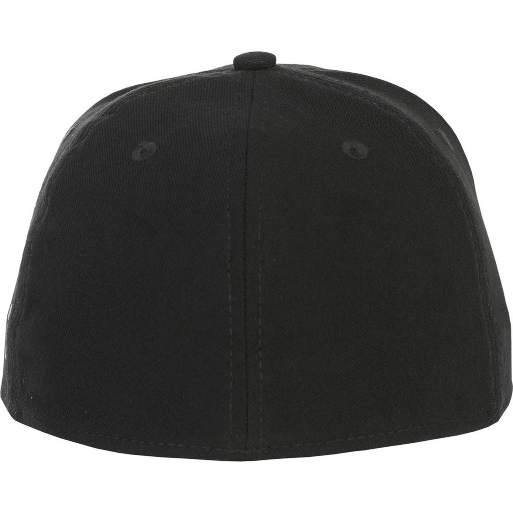 Elevate Black Acuity Fitted Ballcap 33b5730ed2f