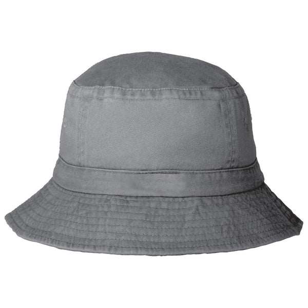 Elevate Grey Storm Moxie Vintage Twill Bucket Hat 90cfb5628c9