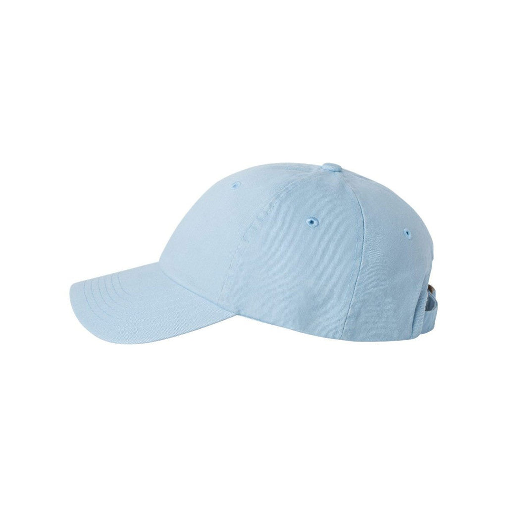 Valucap Baby Blue Youth Twill Cap