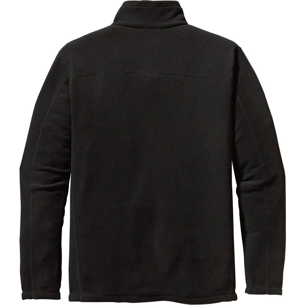 Patagonia Men's Black Micro D Fleece 1/4-Zip