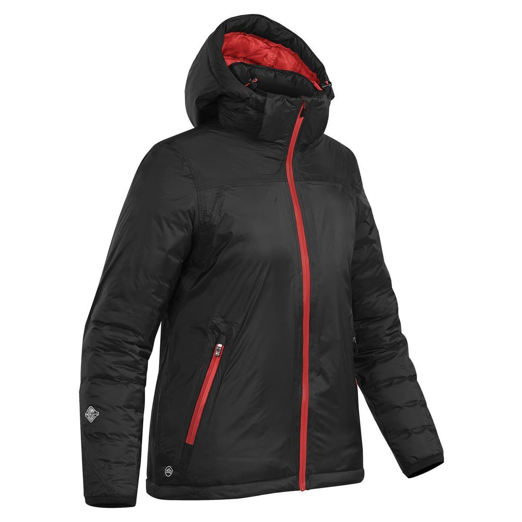 Stormtech Women's Black/Bright Red Black Ice Thermal Jacket
