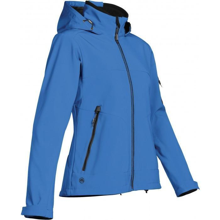 Stormtech Women's Marine Blue/Black Cruise Softshell