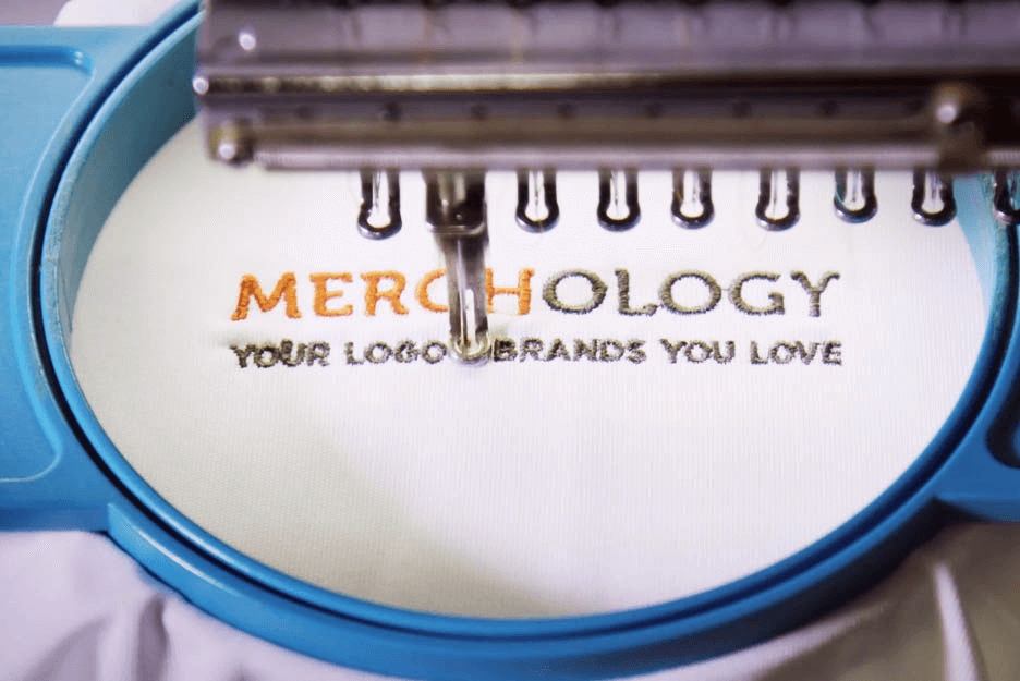 Custom logo stitching - Merchology