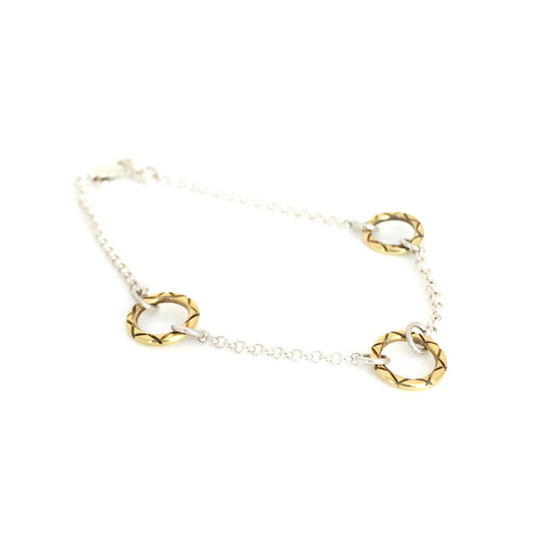 Celesta Collection | Three Suns Bracelet