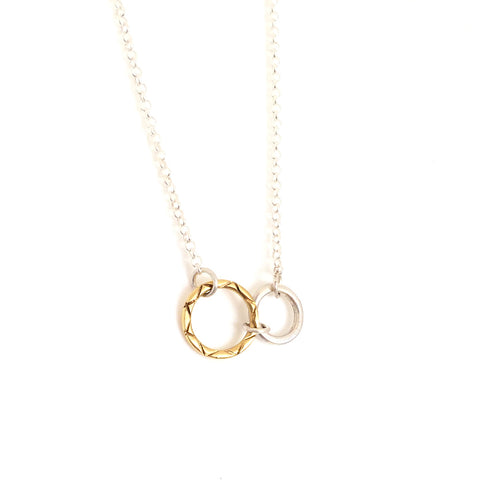 Celesta Collection | Sun & Moon Pendant (small)
