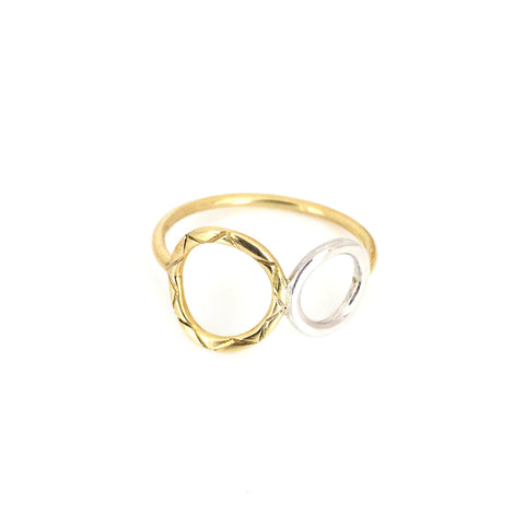Celesta Collection | Sun & Moon Ring