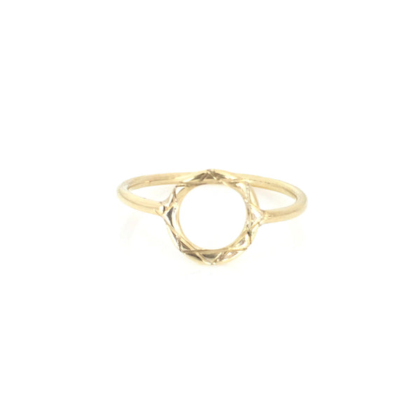 Celesta Collection | Sun Ring