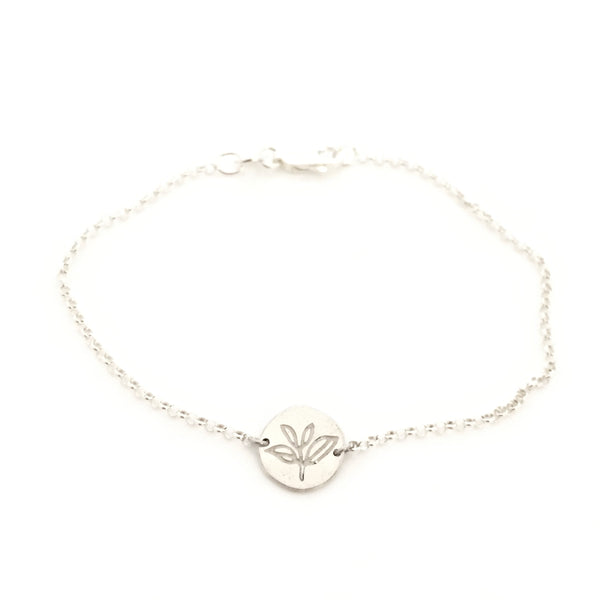 Greenhouse Collection | Tea Plant 925 Silver Bracelet