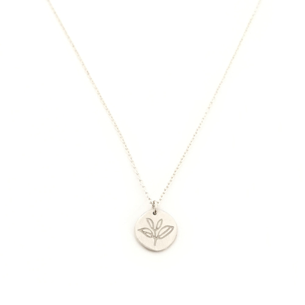 Greenhouse Collection | Tea Plant 925 Silver Pendant