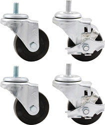 "3"" Wheel Kit Heavy Duty Locking"