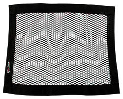 "Mesh Window Net Black Rectangle 22"" x 18"" Non-SFI"