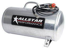 "Aluminum Air Tank, Horizontal 9"" x 20"", 5 Gallon"