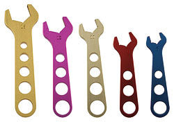 Aluminum Fitting Wrench Set (-06,-08,-10,-12,-16)