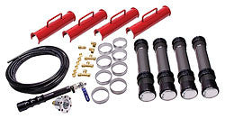 "Race Car Air Jacks, Complete Kit With 15.25"" Stroke"
