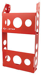 Magazine Rack Double, Red