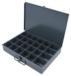 Metal Storage Case 24 Compartment