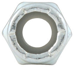 "Coarse Thread Hex Nuts With Nylon Insert, 1/4""-20"