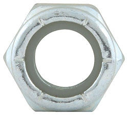 "Coarse Thread Hex Nuts With Nylon Insert Nuts, 3/8""-16"