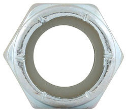 "Coarse Thread Hex Nuts With Nylon Insert, 7/16""-14"