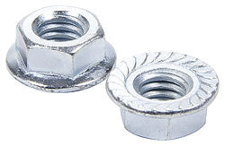 "Serrated Flange Nuts, 5/16""-18"