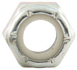 "Fine Thread Hex Nuts With Nylon Insert, 5/16""-24"