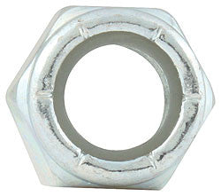 "Fine Thread Hex Nuts With Nylon Insert Nuts, 3/8""-24"