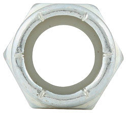 "Fine Thread Hex Nuts With Nylon Insert, 7/16""-20"