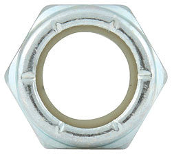 "Fine Thread Hex Nuts Thin With Nylon Insert, 1/2""-20"