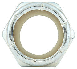 "Fine Thread Hex Nuts Thin With Nylon Insert, 3/4""-16"