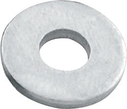 "1/8"" Back Up Washers Aluminum"