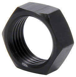 "5/8""-18 RH Thin OD Black Aluminum Jam Nuts"