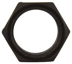 "3/4""-16 LH Thin OD Black Aluminum Jam Nuts"