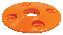 Plastic Scuff Plates, Orange