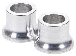 "Tapered Spacers, Aluminum 3/8"" I.D., 1/2"" Long"