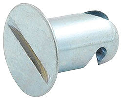 "Aluminum Flush Fasteners .500"" Long"