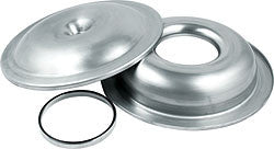"14"" Aluminum Air Cleaner Kit With 1/2"" Spacer, Plain"