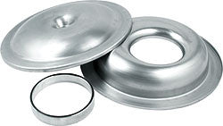 "14"" Aluminum Air Cleaner Kit With 1"" Spacer, Plain"