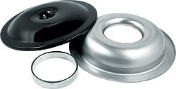 "14"" Aluminum Air Cleaner Kit With 1"" Spacer, Black"