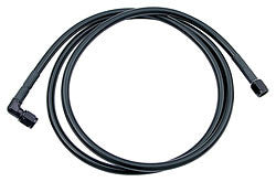 "#3 Coated Braided Line -3 Straight / -3 90 Degree, 24"" Long"