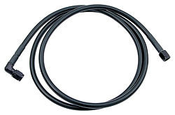 "#3 Coated Braided Line -3 Straight / -3 90 Degree, 30"" Long"