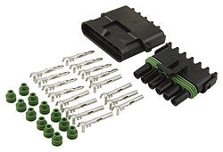 Weather Pack Connector Kit 6-Pin