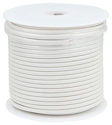 Primary Wire, White, 75' Spool, 10AWG