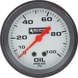 Allstar Oil Pressure Gauge 0-100 PSI