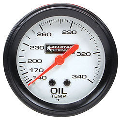Allstar Oil Temp Gauge 140-340 Degree