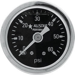 "1.5"" Gauge 0-60 PSI Liquid Filled"