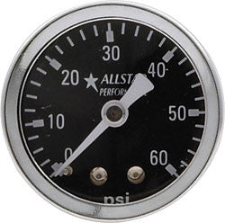 "1.5"" Gauge 0-60 PSI Dry Type"